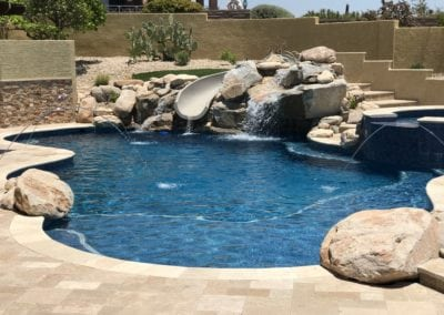 backyard water features tucson