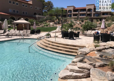 Westin La Paloma Resort - Adult Pool Renovation 2018 © ADG - Arzate Design Group